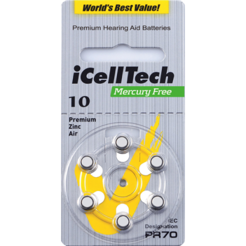 iCellTech Platinum 10DS-6