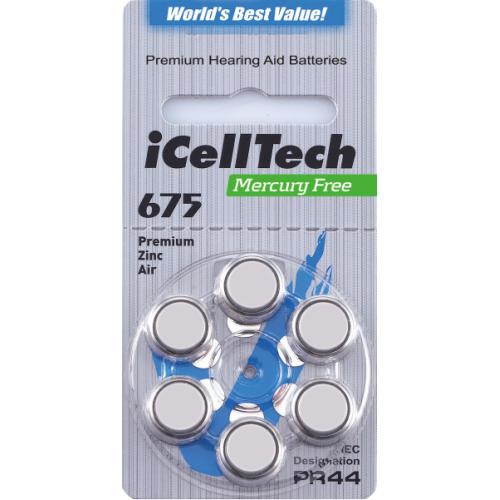 iCellTech Platinum 675DS-6